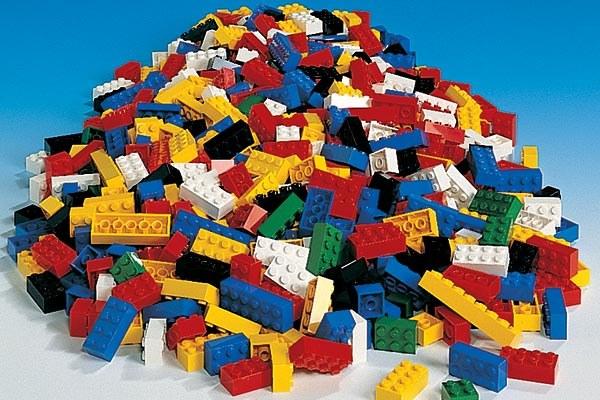 Lego pile
