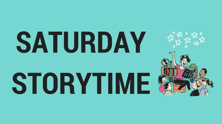 Saturday Storytime slide