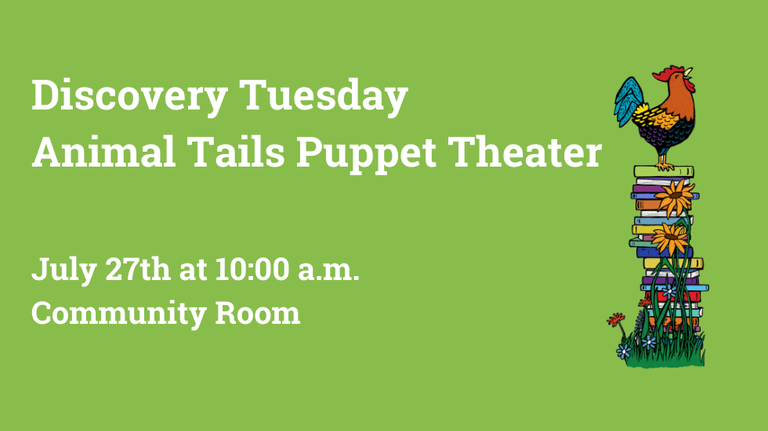 Animal Tails Puppet Theater slide 2
