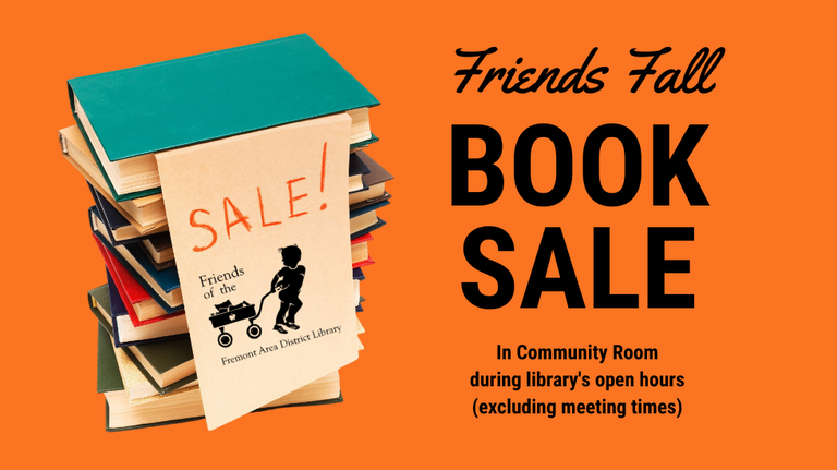 Fall Book Sale 2020