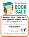 Book Sale 2019 flyer image