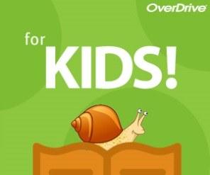 OverDrive Kids logo snail