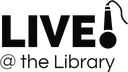 Live @ the Library Logo