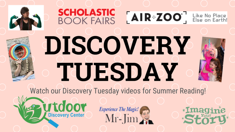 Discovery Tuesday 2020 slide