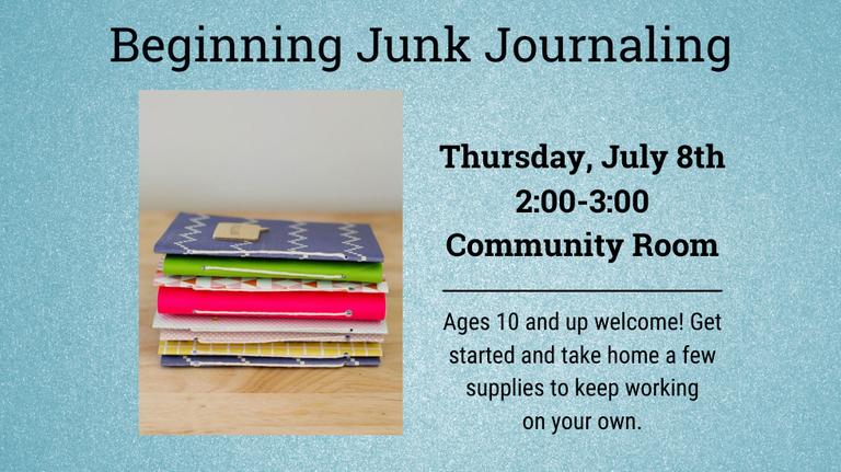 Beginning Junk Journaling slide