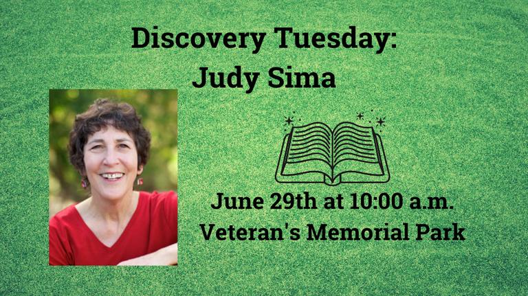 Discovery Tuesday Judy Sima slide