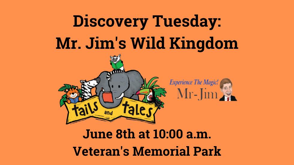 Discovery Tuesday Mr. Jim slide