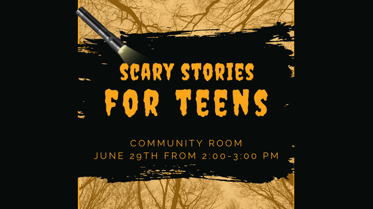 Scary Stories for Teens slide
