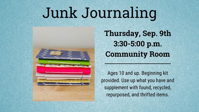 Junk Journaling slide